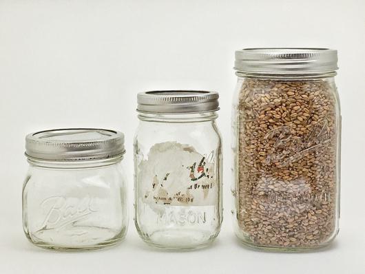 Alternative Life Tool #15 Mason Jar Pint 16oz / Quart 32oz