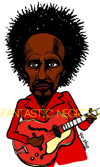 Fantastic Negrito caricature likeness