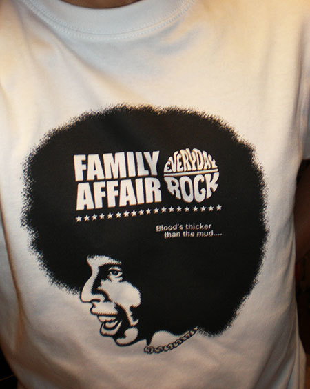 Sly & The Family Stone T Shirt caricature