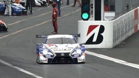 2018スーパーGTラウンド1「岡山」予選