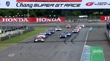 2018スーパーGTラウンド4「タイ」決勝