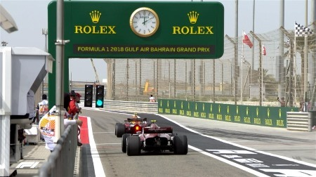 2018年F1第2戦バーレーンGP、FP1結果
