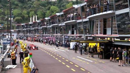 2018年F1第6戦モナコGP、FP1結果