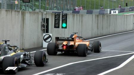 2018年F1第9戦オーストリアGP、FP1結果