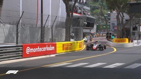 2018年F1第6戦モナコGP、FP2結果