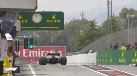 2018年F1第5戦スペインGP、FP3結果