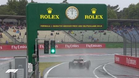 2018年F1第11戦ドイツGP、FP3結果