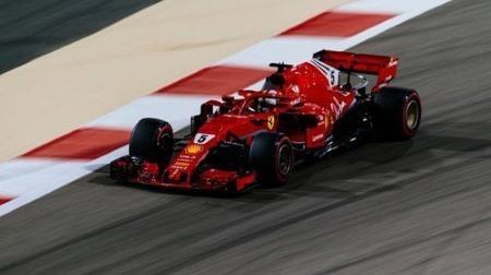 2018年F1第2戦 バーレーンGP、PPはベッテル