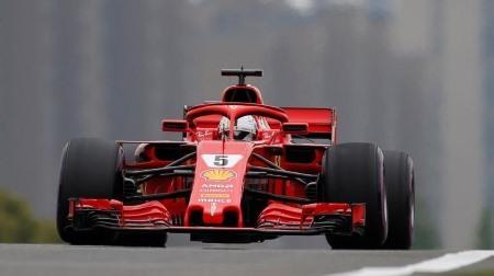 2018年F1第3戦 中国GP、PPはベッテル