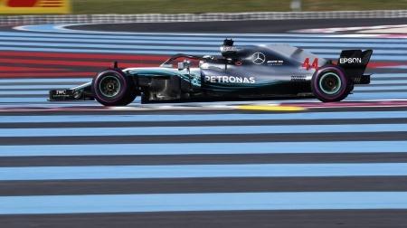 2018年F1第8戦 フランスGP、PPはハミルトン