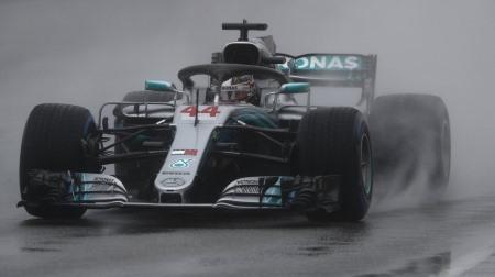 2018年F1第12戦 ハンガリーGP、PPはハミルトン