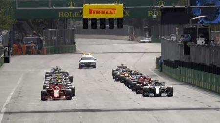 2018年F1第4戦のスタート