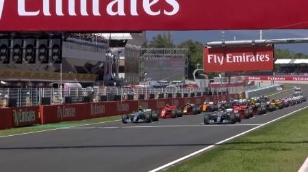 2018年F1第5戦のスタート