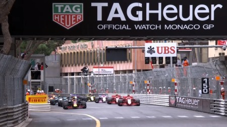 2018年F1第6戦のスタート