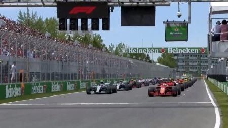2018年F1第7戦のスタート