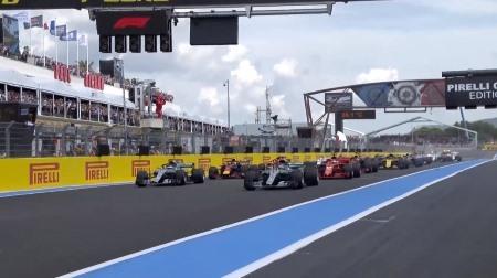 2018年F1第8戦のスタート