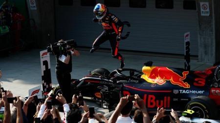 2018F1中国GPドライバー・オブ・ザ・デイ