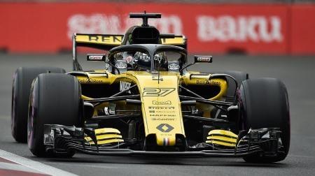 ヒュルケンベルグ、表彰台はまだ遠い@F1アゼルバイジャンGP