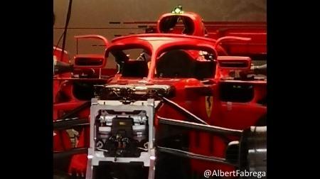 フェラーリがHALO&ミラーアップデート