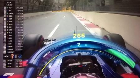 F1オンボード映像×HALOグラフィックス