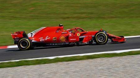 ライコネンがPUコンポーネントを交換@F1スペインGP