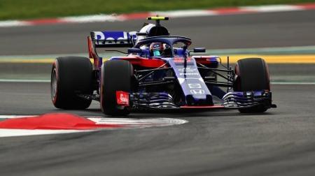 ガスリー「戦いに戻れつつある」@F1スペインGP予選