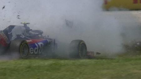トロロッソ・ホンダ、ガスリーのレース後コメント@F1スペインGP