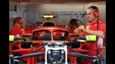 フェラーリ、HALOミラーを継続使用@F1モナコGP