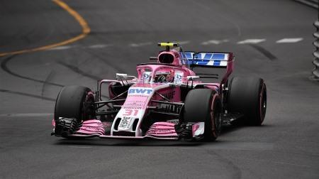 フォースインディアのオコンが6位@F1モナコGP