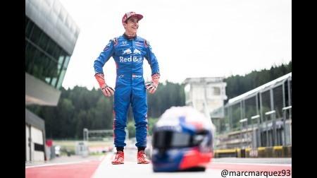 マルケスとペドロサがレッドブルリンクでF1をドライブ