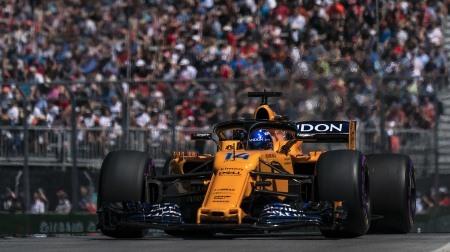 マクラーレン、予選で大失速@F1カナダGP
