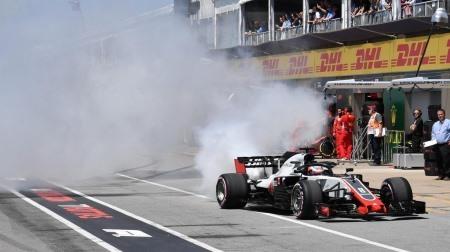 グロージャン、ネタの宝庫に@F1