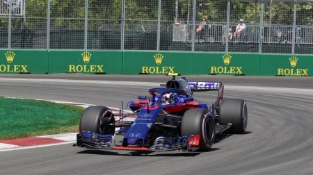 ガスリー、MGU-Hのトラブルか?@F1カナダGP予選