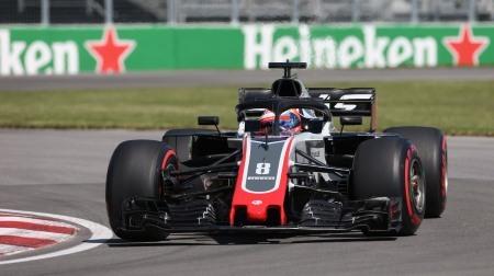 F1カナダGPのハース勢