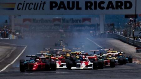 F1フランスGPは日程が1時間ズレます
