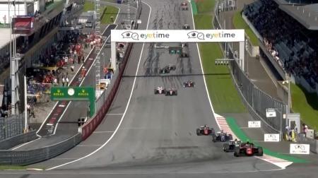 2018F2オーストリア決勝レース1結果