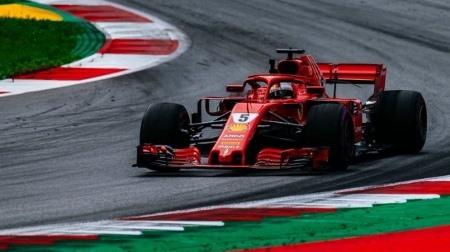 ベッテルにグリッド降格ペナルティ@F1オーストリアGP予選