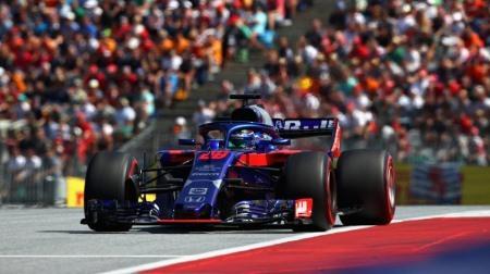トロロッソ・ホンダ、入賞できず@F1オーストリアGP