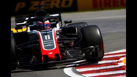 ハースのグロージャン&マグヌッセンがいつもの走り@F1イギリスGP