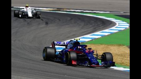 トロロッソホンダ、2台そろって予選Q1敗退@F1ドイツGP