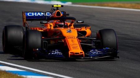 マクラーレンのバンドーンが2戦連続予選最下位@F1ドイツGP