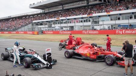 メルセデス、フェラーリに負けてると認める@F1ドイツGP予選