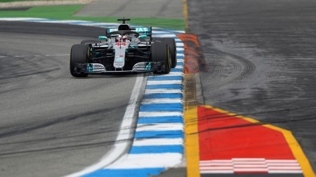 F1ドイツGP、ハミルトンの優勝が確定