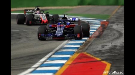 トロロッソ・ホンダが2台完走&久々の入賞@F1ドイツGP