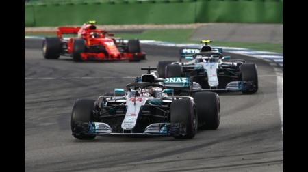 メルセデス、フェラーリに完全にパワー負け