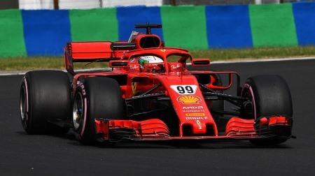 2018F1インシーズンテスト:ハンガロリンク1日目