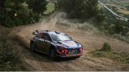 2018 WRC 第7戦 イタリア 総合結果