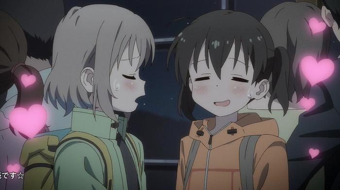 【ヤマノススメ サードシーズン】 第1話 キャプ感想 夜の山で初デート!? カップル多すぎだしww