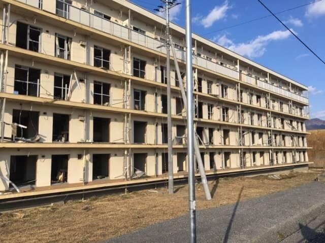震災遺構「陸前高田雇用促進住宅」