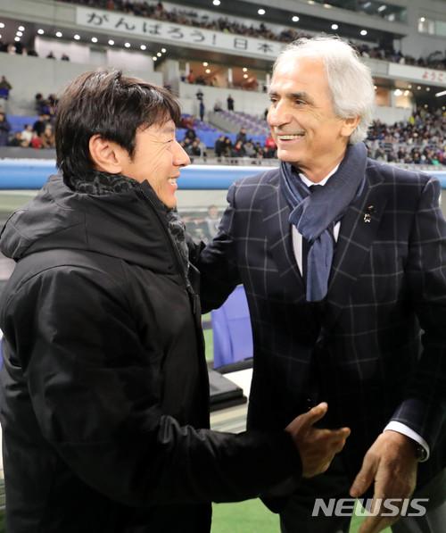 韓国メディア:日本代表ハリルホ...